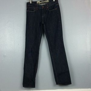 Madewell Rail Straight Ladies Jeans Sz 27X32